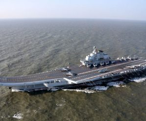 China's aircraft carrier returns to port after drill