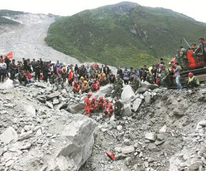 'I had never witnessed anything so scary', woman says of landslide