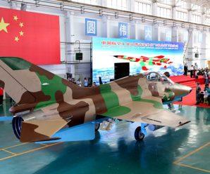 Military jet takes step toward export