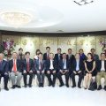 The president of Glorysky Group come to vist TCPPRC