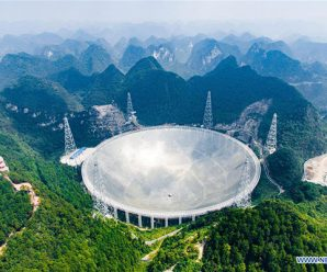 Air routes adjusted to leave world's largest radio telescope in peace