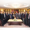 Shantou Federation of Returned Overseas Chinese come to visit TCPPRC
