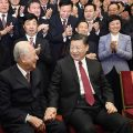 Xi shows great respect for two aged honorees