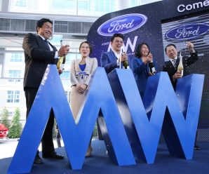 President Wang Zhimin,was invited to attend the opening ceremony of Chen Mingcai MW (FORD) Auto Show Hall