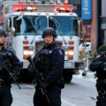 Bomb suspect in New York inspired by ISIS: officials