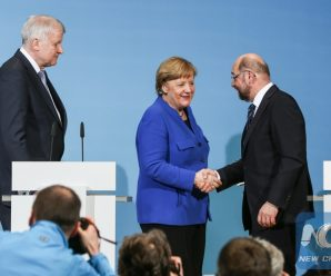 """Merkel rebuffs calls for re-negotiation of """"grand coalition"""" pre-agreement"""