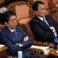 Abe denies involvement by him, wife in land sale