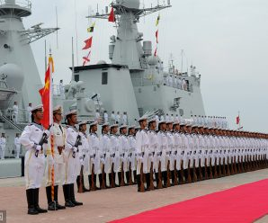 Navy strives to be modern, strong as commander urged